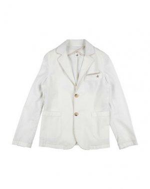 Пиджак BROOKSFIELD. Цвет: белый