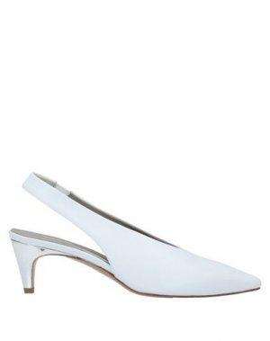 Туфли CALPIERRE. Цвет: белый
