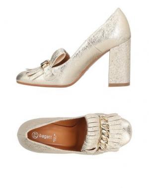 Туфли BAGATT. Цвет: платиновый