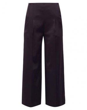Повседневные брюки CHALAYAN. Цвет: баклажанный