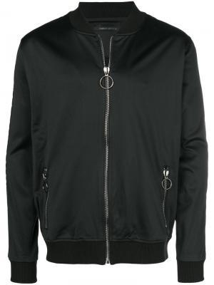 Куртка-бомбер Feleone Frankie Morello. Цвет: черный