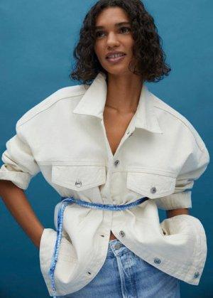 Текстильный ремень tie-dye - Tiedye Mango. Цвет: синий