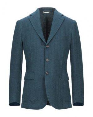 Пиджак DOPPIAA. Цвет: цвет морской волны