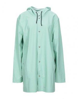 Легкое пальто STUTTERHEIM. Цвет: светло-зеленый