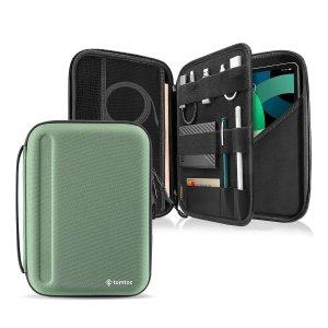 Чехол-портфель для iPad 9,7-11 дюймов SHEIN. Цвет: темно-зеленый