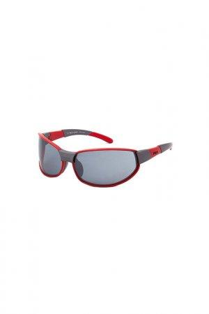 Солнцезащитные очки FILA. Цвет: красный