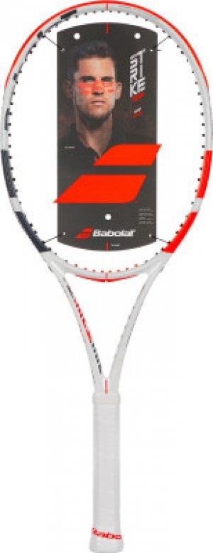 Ракетка для большого тенниса Pure Strike Team 27 Babolat. Цвет: белый