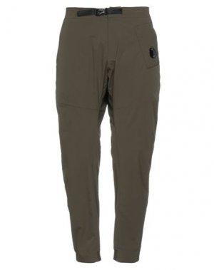 Повседневные брюки C.P. COMPANY. Цвет: зеленый-милитари