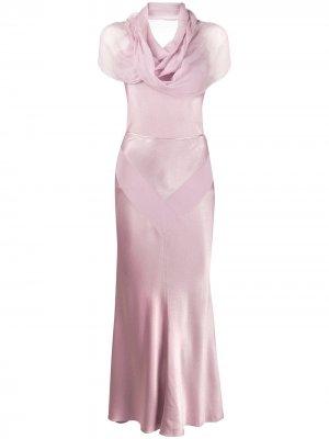 Блузка и юбка 1999-го года pre-owned Christian Dior. Цвет: розовый