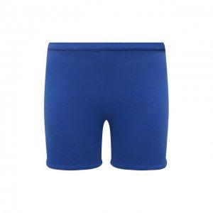Хлопковые шорты Heron Preston for Calvin Klein. Цвет: синий