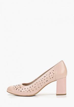 Туфли Jana с увеличенной полнотой G. Цвет: розовый