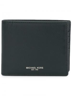 Складной бумажник Michael Kors. Цвет: черный