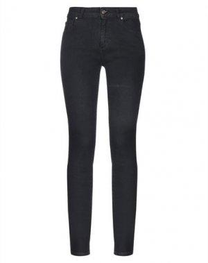 Джинсовые брюки AVANTGAR DENIM by EUROPEAN CULTURE. Цвет: черный