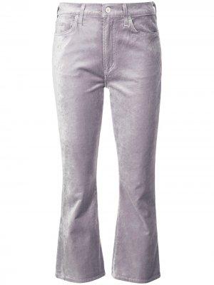 Укороченные джинсы Citizens of Humanity. Цвет: фиолетовый