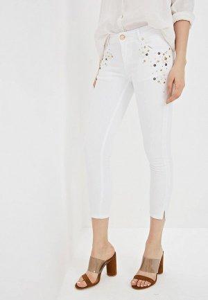 Джинсы Gaudi. Цвет: белый