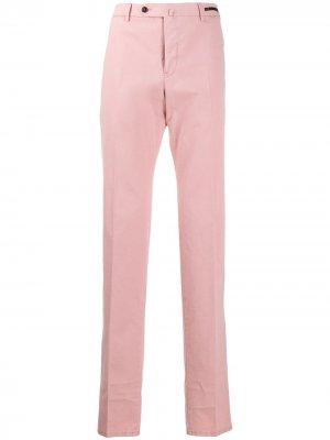 Классические брюки чинос Pt01. Цвет: розовый