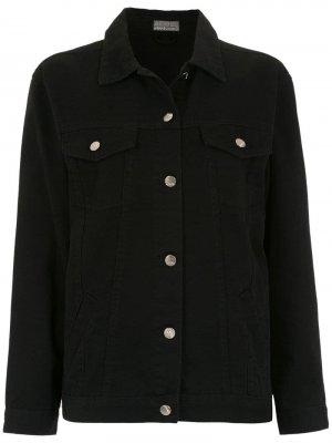 Джинсовая куртка Relax Nanquim Amapô. Цвет: черный
