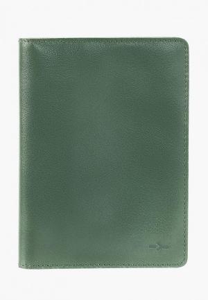 Обложка для паспорта Igor York. Цвет: зеленый