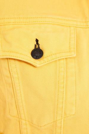 Желтая джинсовая куртка Rag&Bone. Цвет: желтый
