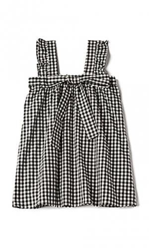 Платье-майка bo peep For Love & Lemons. Цвет: черный
