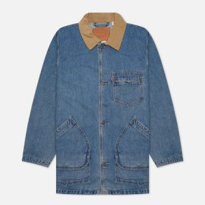 Мужское пальто Levis Brisbane Chore Levi's. Цвет: голубой