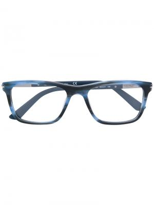 Square frame glasses Calvin Klein. Цвет: синий