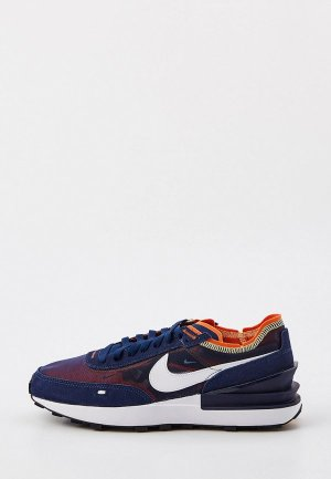 Кроссовки Nike WAFFLE ONE. Цвет: синий