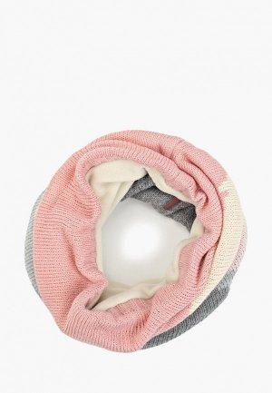 Снуд Buff Knitted&Polar Neckwarmer Sveta. Цвет: розовый