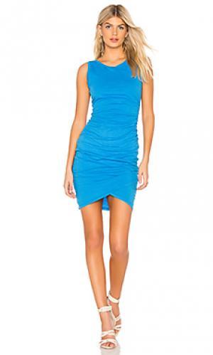 Платье Bobi. Цвет: синий