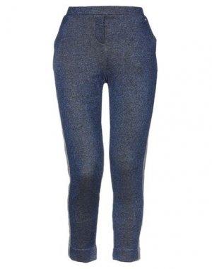 Повседневные брюки AAIKO. Цвет: синий