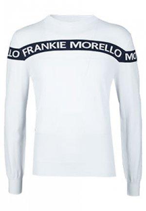 Джемпер FRANKIE MORELLO. Цвет: белый