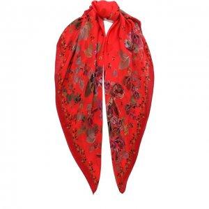 Шелковый платок Capri Radical Chic. Цвет: красный