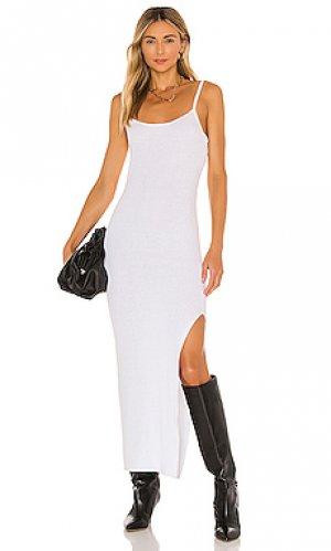 Макси платье riviera BEC&BRIDGE. Цвет: белый