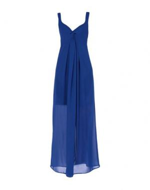 Длинное платье CLUB VOLTAIRE. Цвет: синий