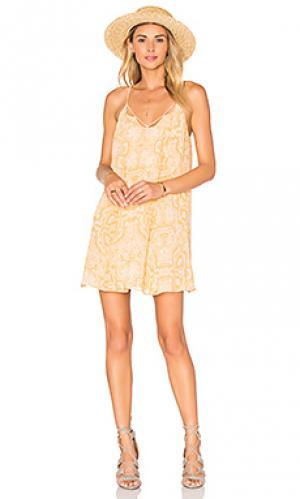 Платье-майка BCBGeneration. Цвет: оранжевый