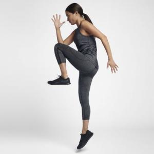 Женские капри для тренинга Pro HyperCool Nike. Цвет: черный