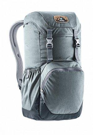 Рюкзак Deuter Walker 20 Anthracite/Black. Цвет: серый