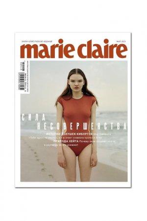 Б.формат №62, май, обл 2 Marie Claire main. Цвет: белый
