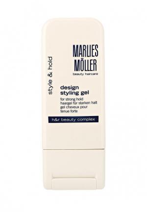 Гель для укладки Marlies Moller StylIng креативной 100 мл. Цвет: белый