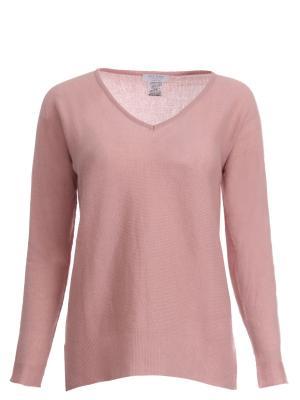 Кашемировый пуловер Gran Sasso. Цвет: розовый