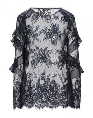 Блузка HANITA. Цвет: темно-синий