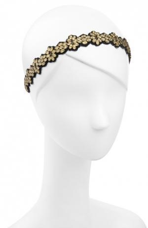 Повязка для волос Deepa Gurnani. Цвет: золотой