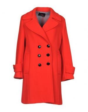 Пальто BETTA CONTEMPORARY COUTURE. Цвет: красный