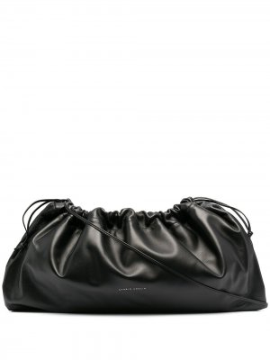 Большая сумка с кулиской Studio Amelia. Цвет: черный