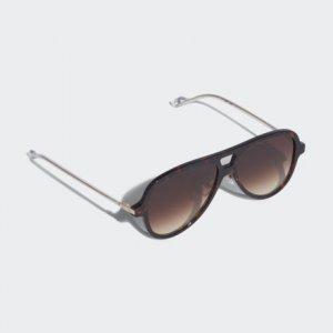 Очки солнцезащитные AOK001 Originals adidas. Цвет: черный