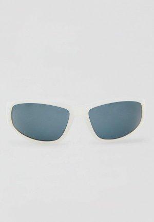 Очки солнцезащитные Pull&Bear. Цвет: белый