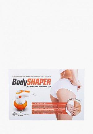 Массажер для тела Gezatone AMG121 4 в 1 и ИК прогревом Body Shaper. Цвет: оранжевый