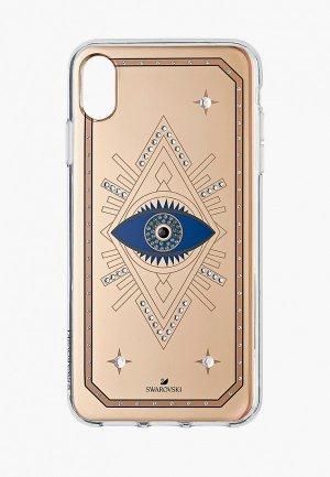 Чехол для iPhone Swarovski® TAROT EYE. Цвет: бежевый