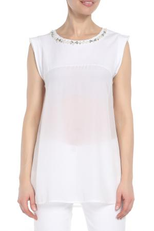 Блуза Marc Aurel. Цвет: белый