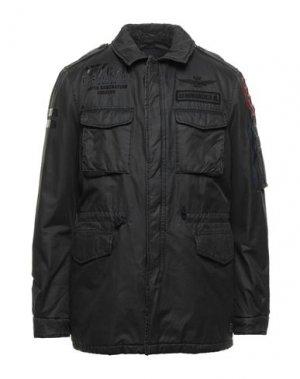 Куртка AERONAUTICA MILITARE. Цвет: стальной серый